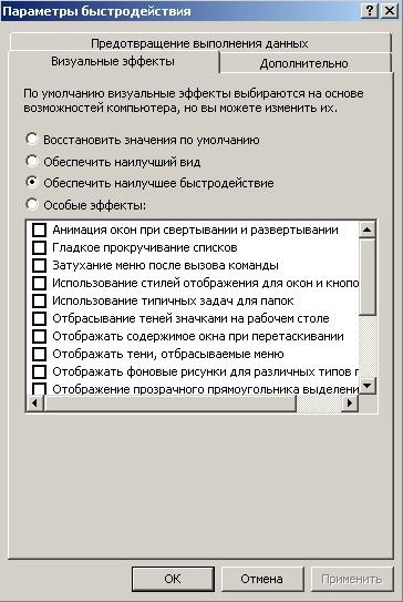 Быстродействие-параметры