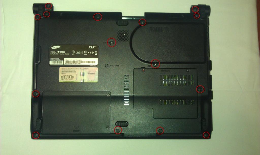 Samsung NP-R25E
