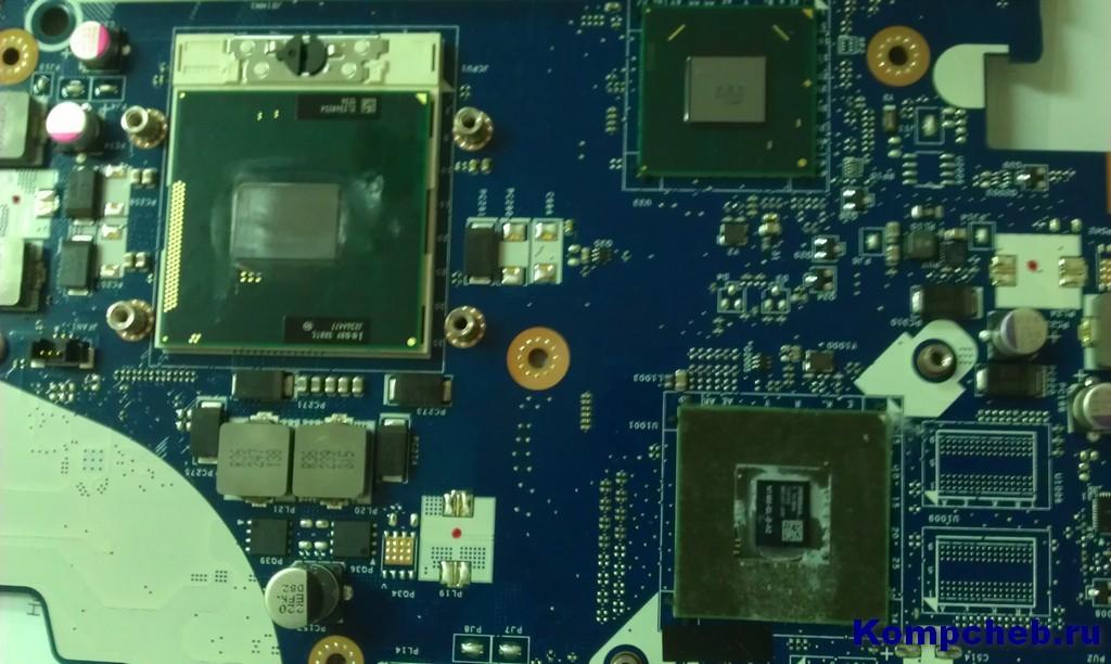 Очищенные процессоры от термопасты