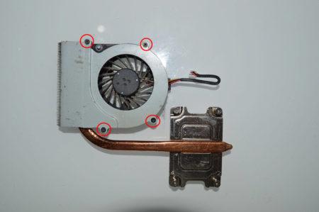 Разборка корпуса вентилятора