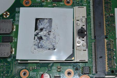 Процессор и термопаста
