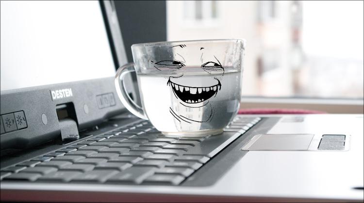 ноутбук+кружка